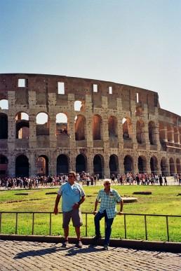 andrew tralongo film photography rome colosseum 1
