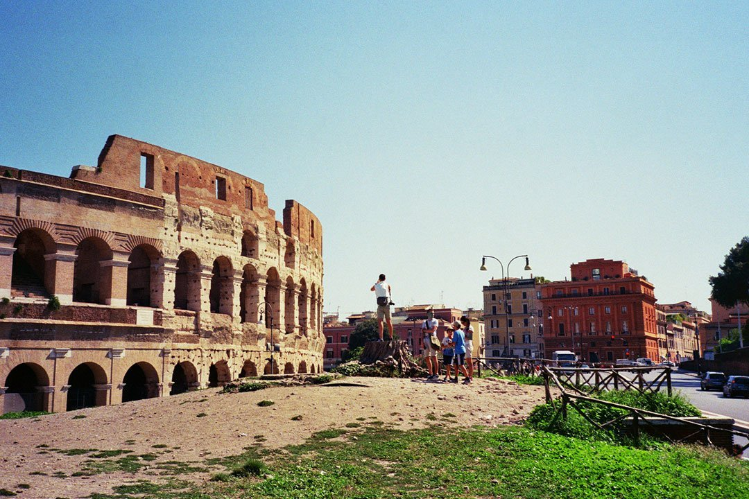 andrew tralongo film photography rome colosseum 2