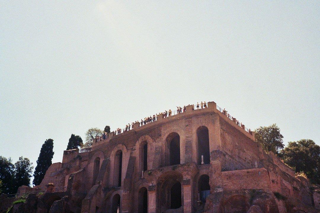 andrew tralongo film photography rome parco colle oppio 1