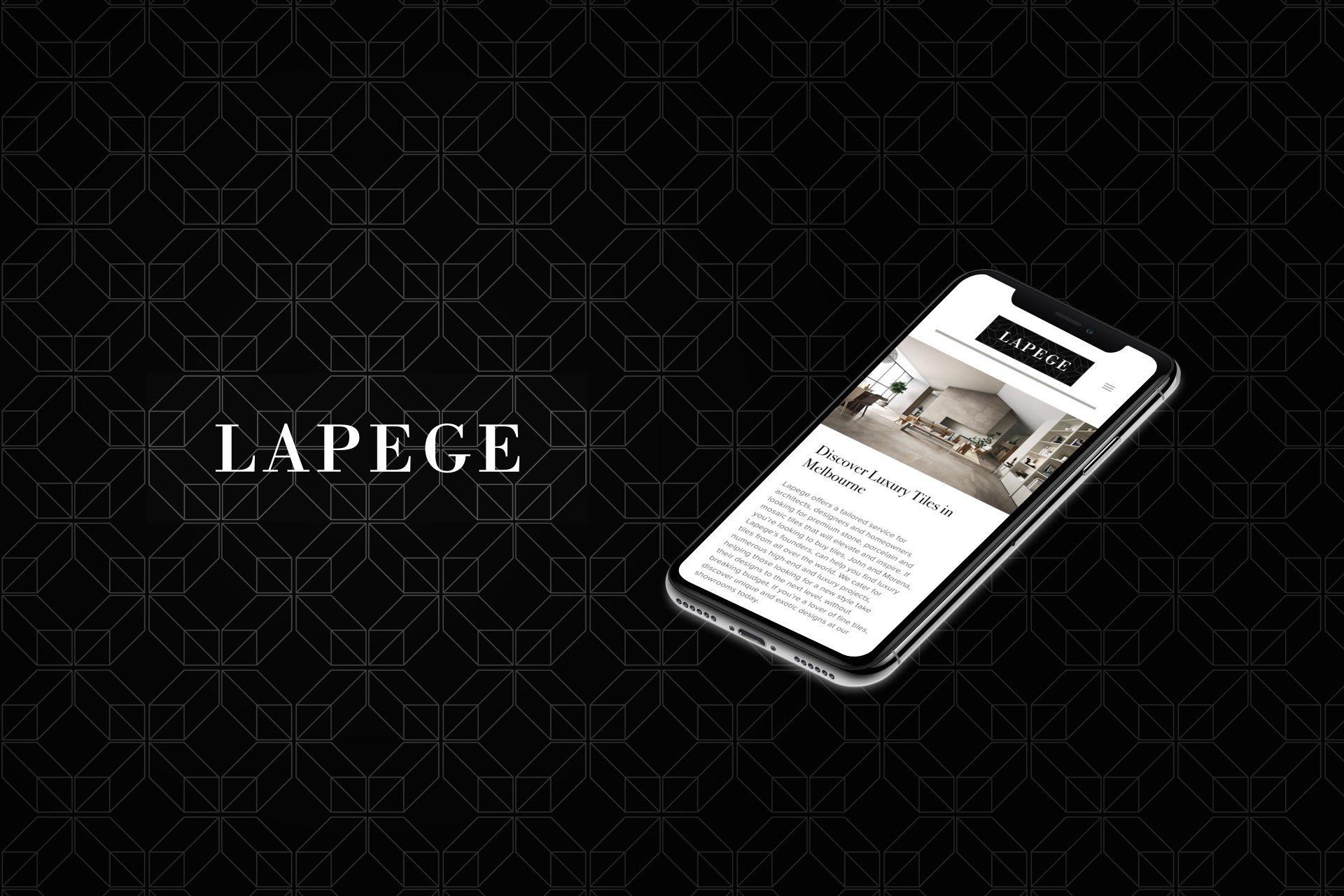 Andrew Tralongo Portfolio Web UX LaPege Feature