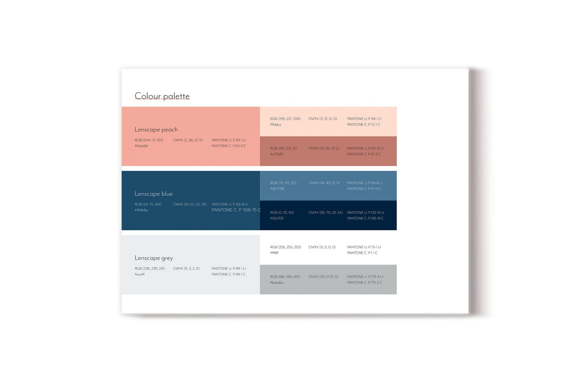 andrew tralongo how to create a brand style guide colour palette